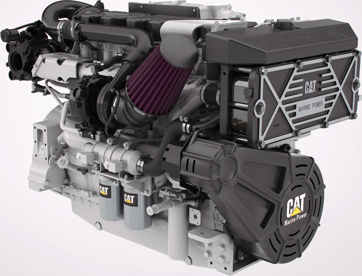 cat marine power engine